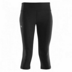 UNDER ARMOUR CAPRI DONNA NERO